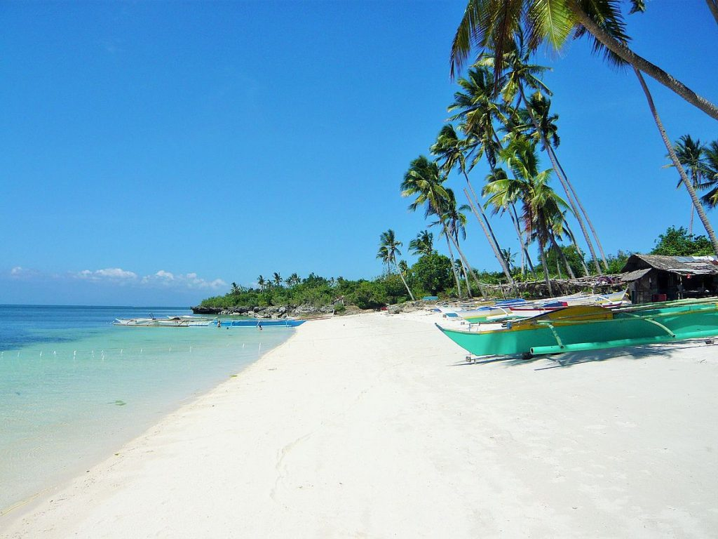 Siquijor island philippines beach