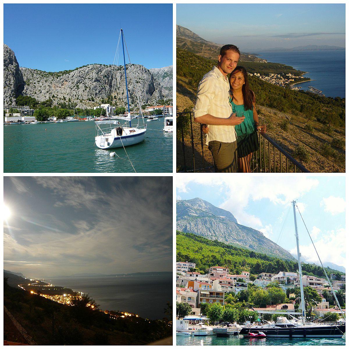 croatia brela views