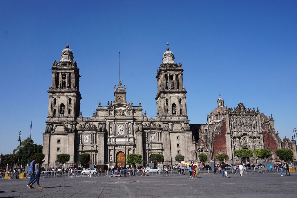 mexico city zocalo cathedral