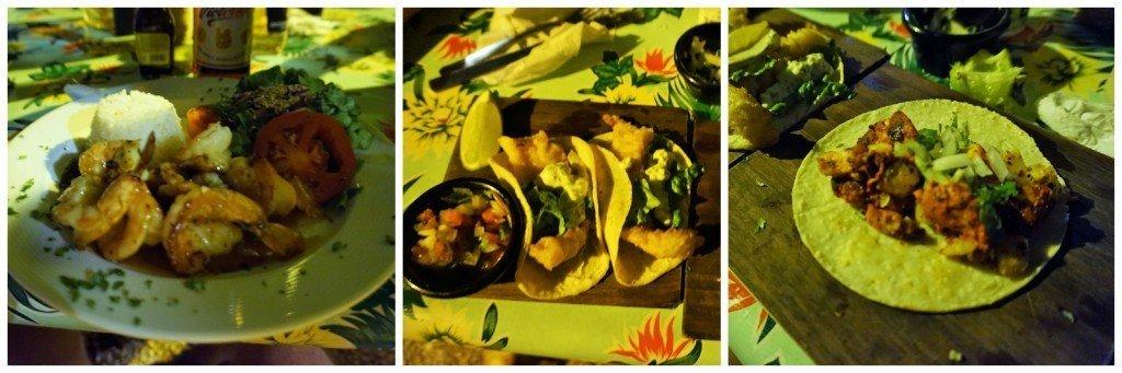 tacos lake bacalar