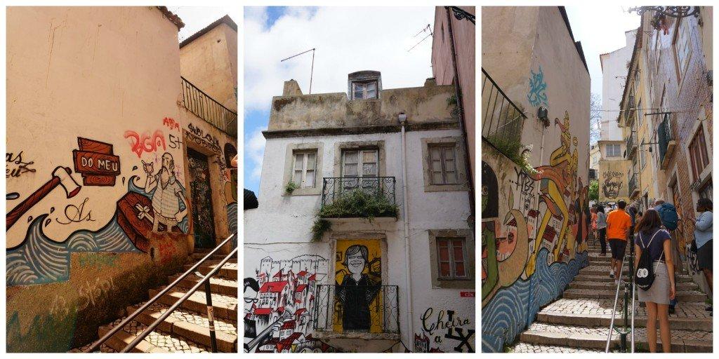 lisbon small streets