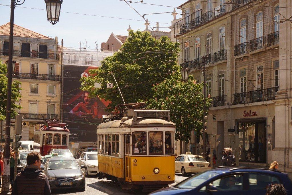 lisbon portugal street life