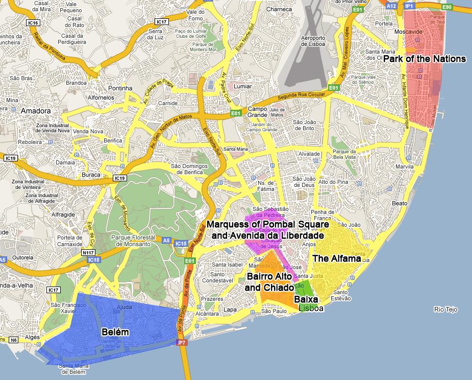 lisbon neighborhoods map