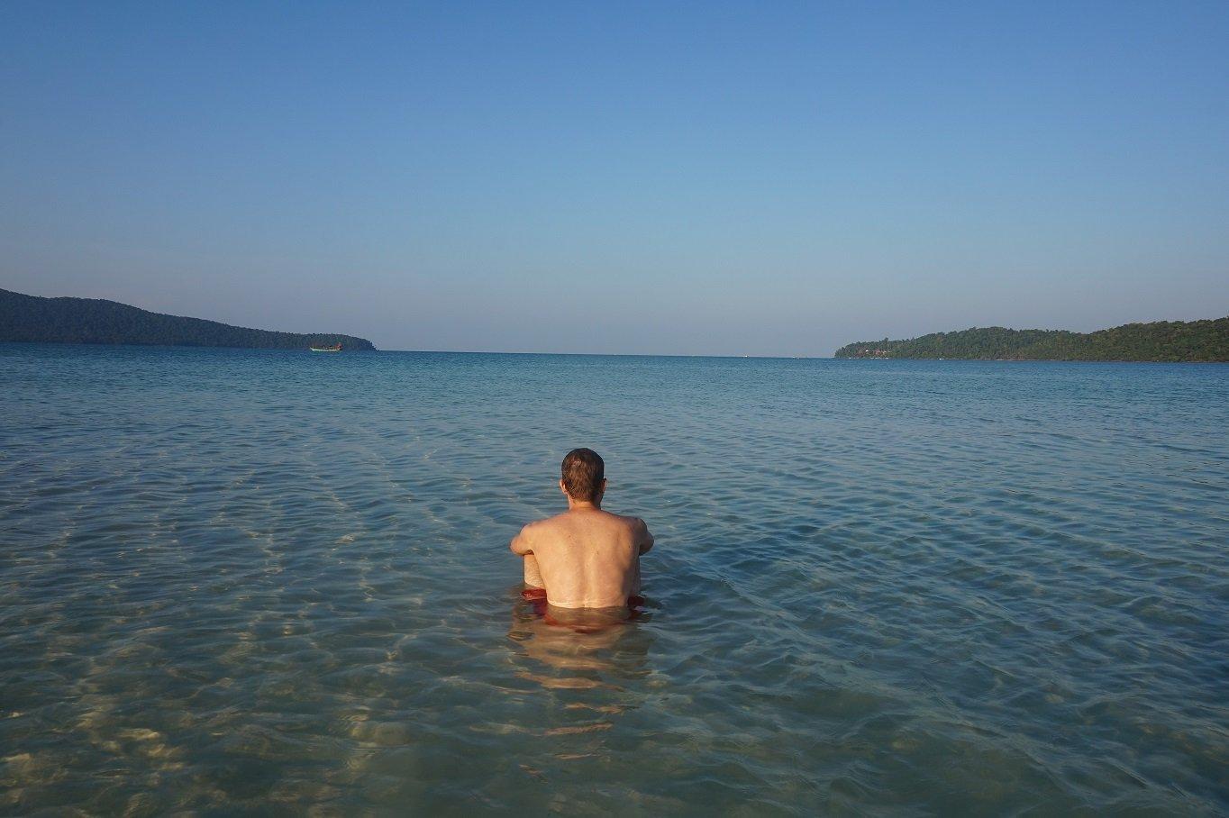 chilling in cambodia