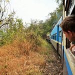 Myanmar train travel