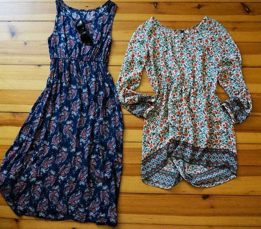 vestidos para viaje