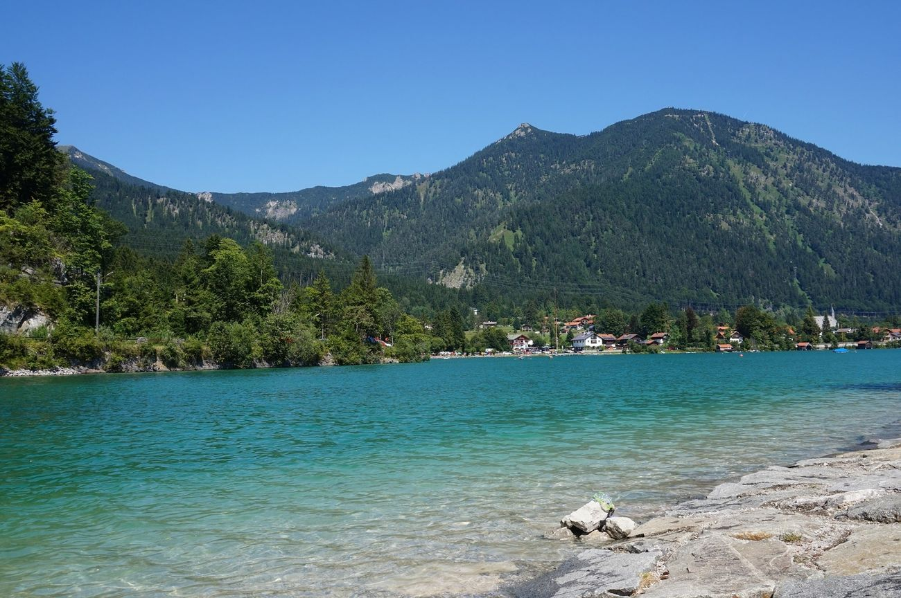 walchensee blue waters