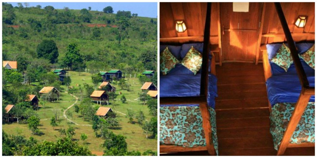nature lodge mondulkiri collage