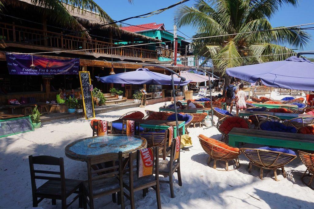 Koh Rong Island Cambodia Restaurants