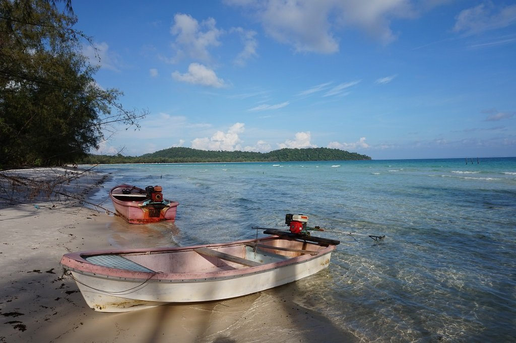 Koh Rong Island Cambodia Beaches and Boats