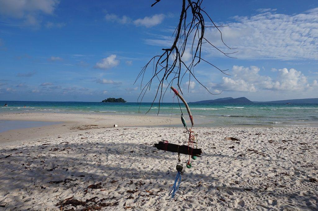Koh Rong Island Cambodia Beach view