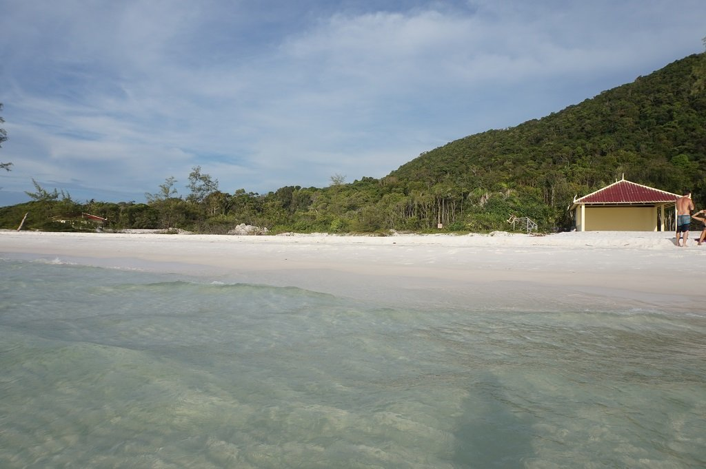 Koh Rong Island Cambodia Long Beach view