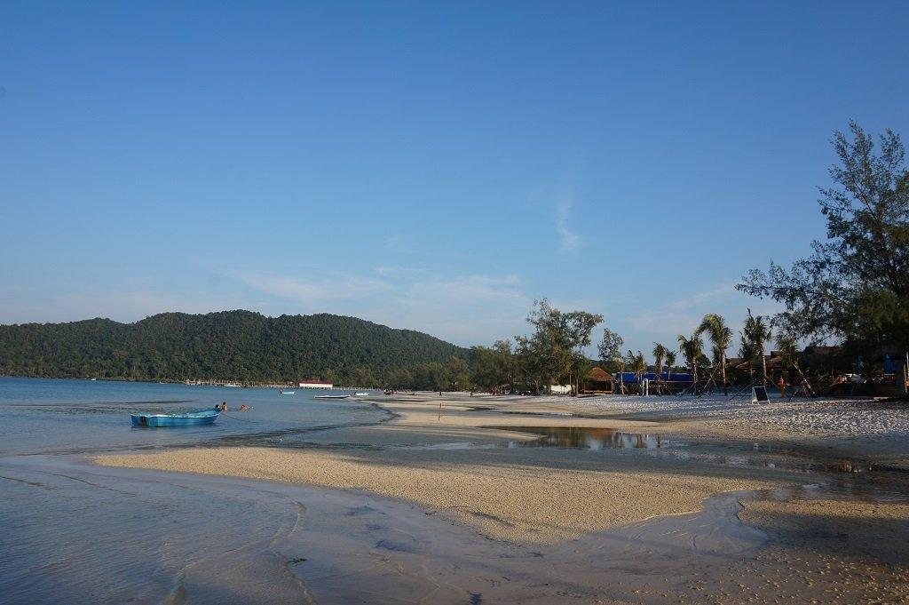 Koh Rong Samloem Island Cambodia Beach