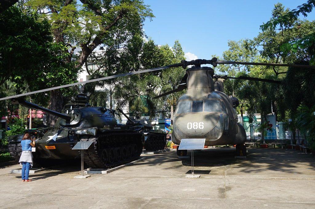 War Remnants Museum Saigon 01
