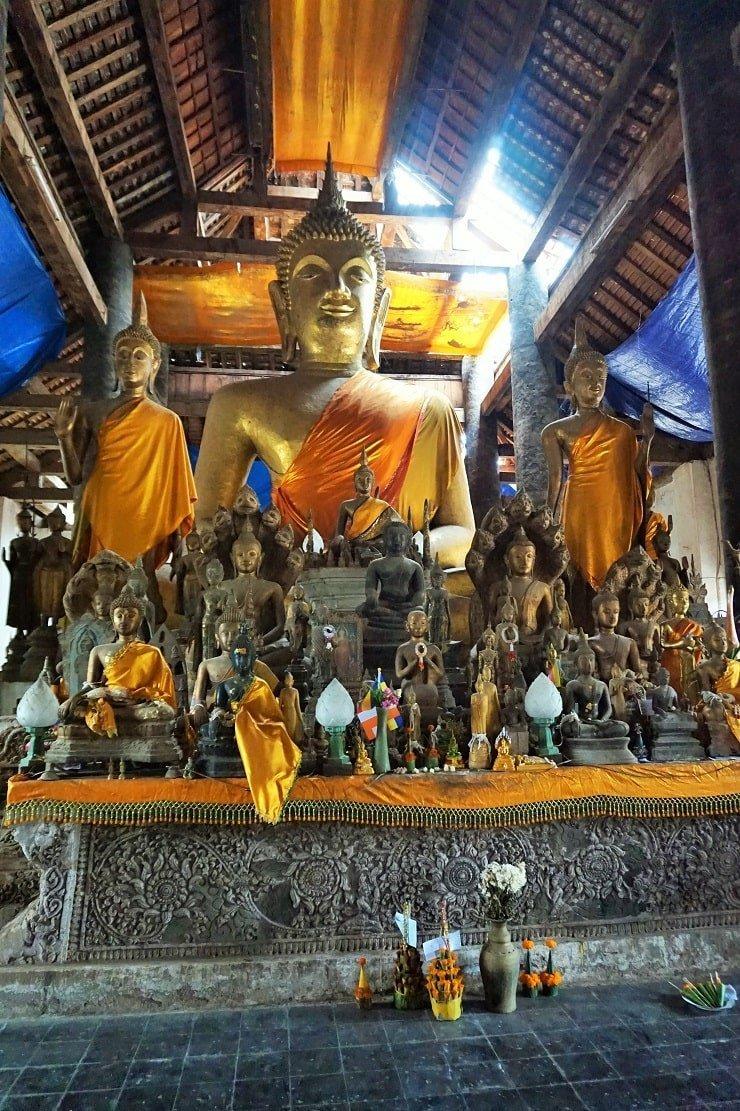Luang Prabang Wat Wisunalat
