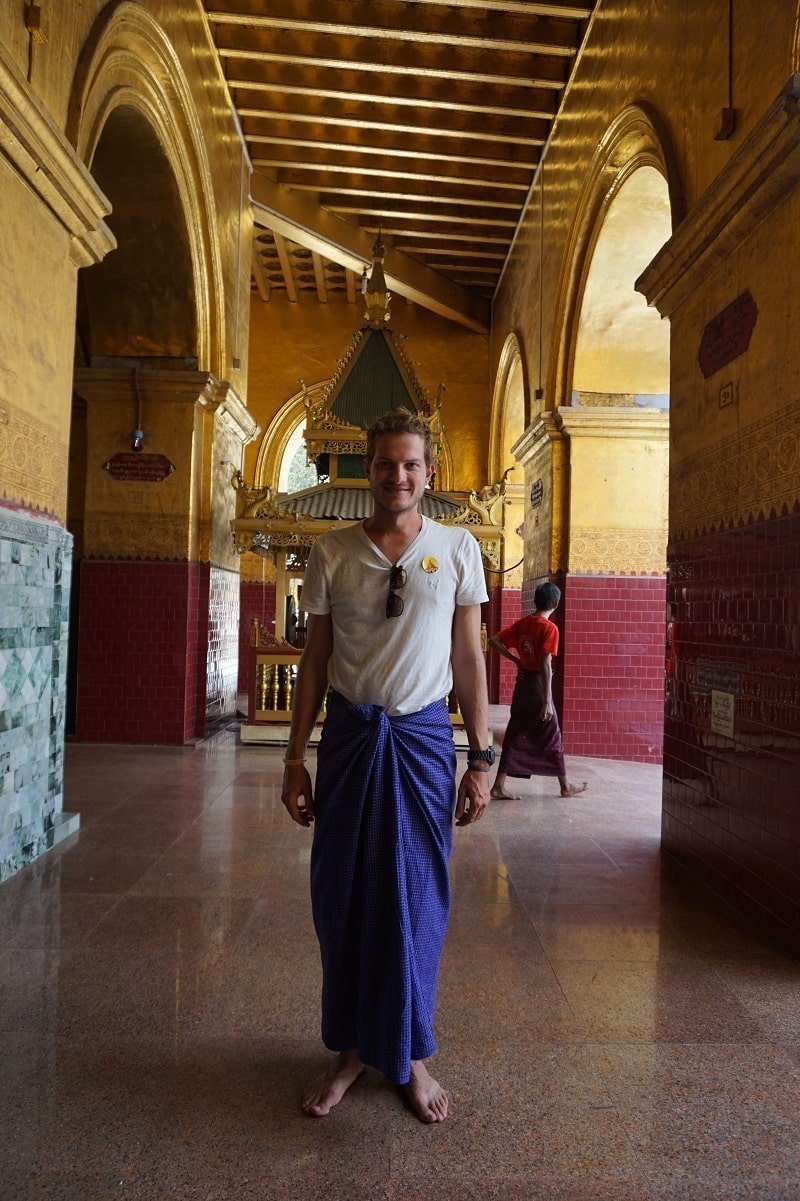 Mahamuni Mandalay Longyi