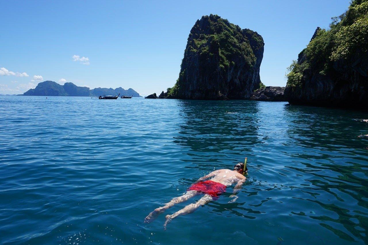 Snorkelling Ko Lanta Thailand Beaches