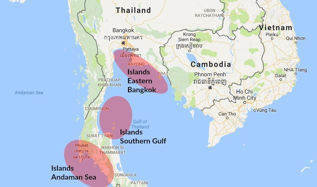 detailed map of south thailand - 1023×606