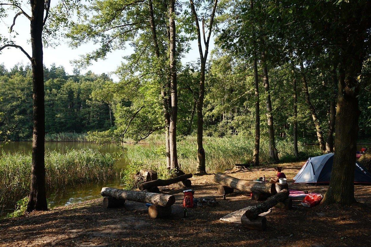 tenting area biber ferienhof