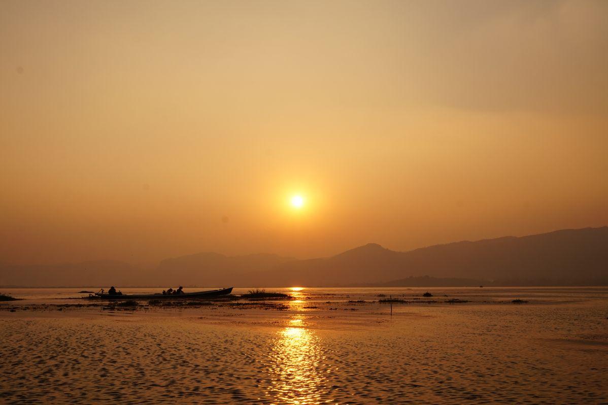 ine lake myanmar