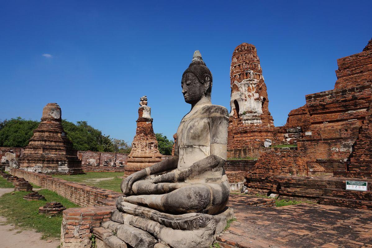 thailand ayutthaya buddha