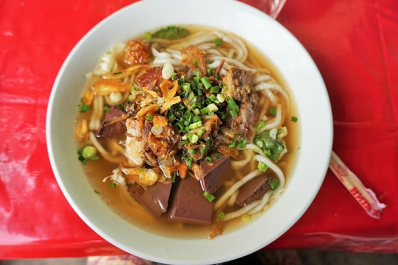 spicy soups in laos