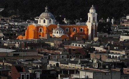 iglesia de la capital de tlaxcala