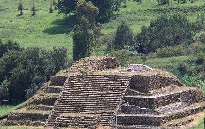 pirámide de cacaxtla en Tlaxcala