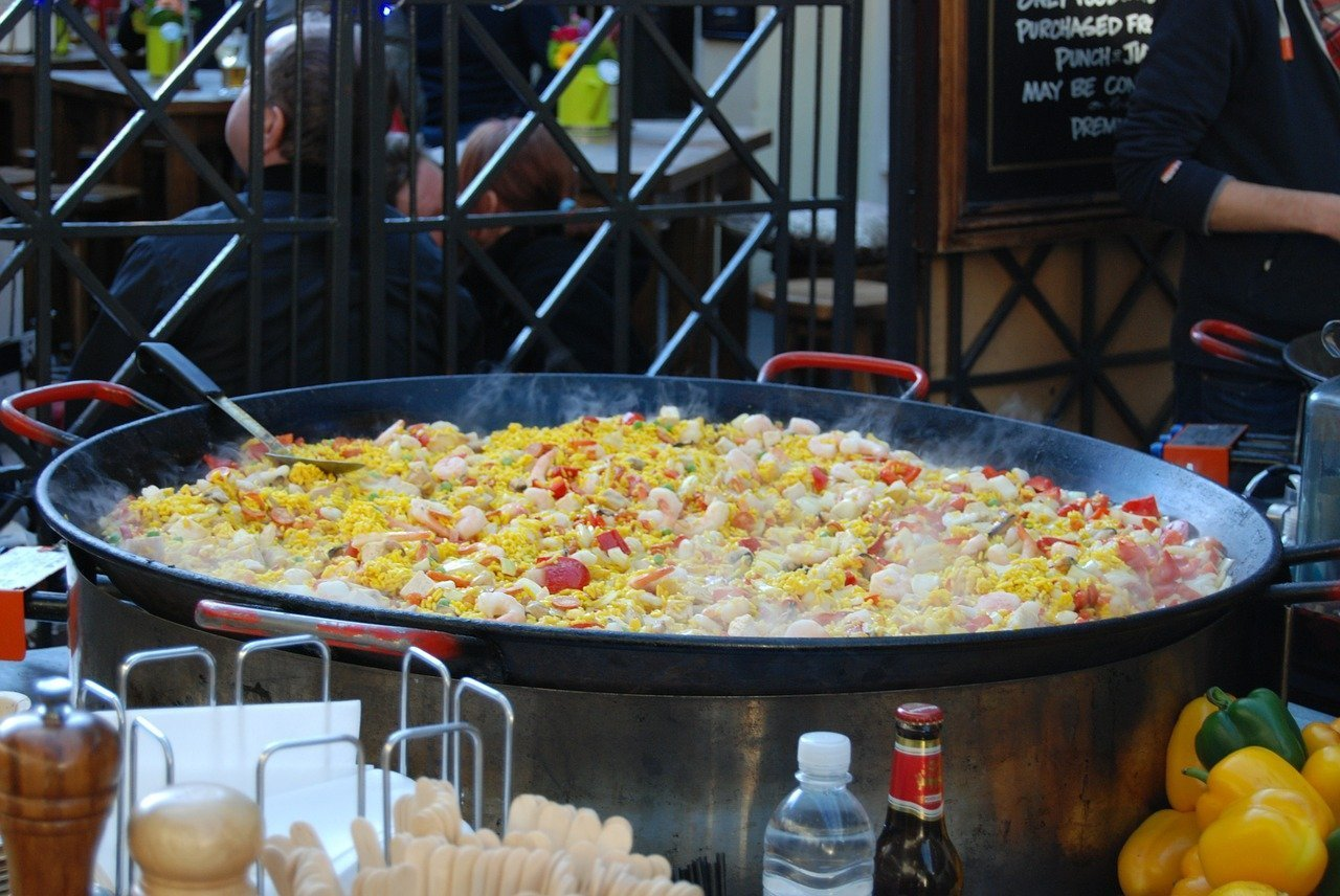 london street food paella