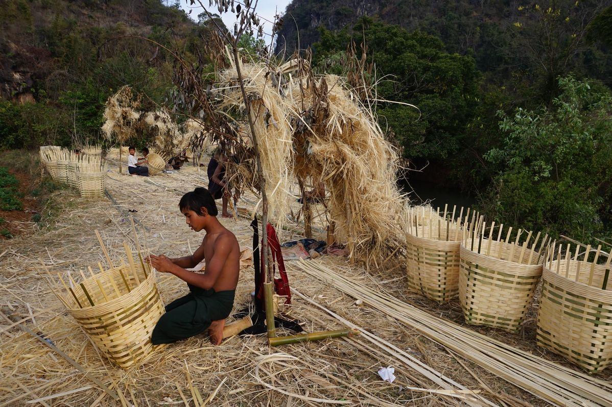 basket making kalaw