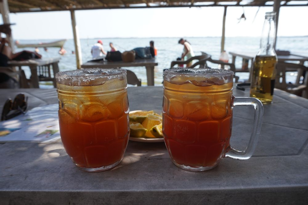 micheladas on isla mentosa