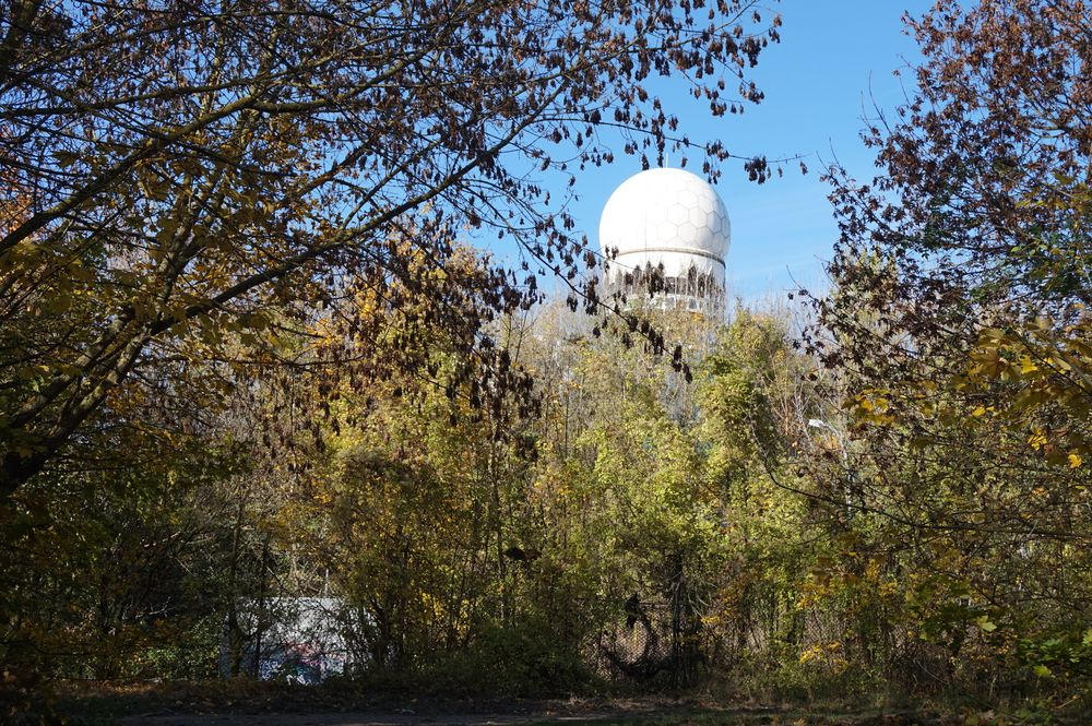 walking up to teufelsberg