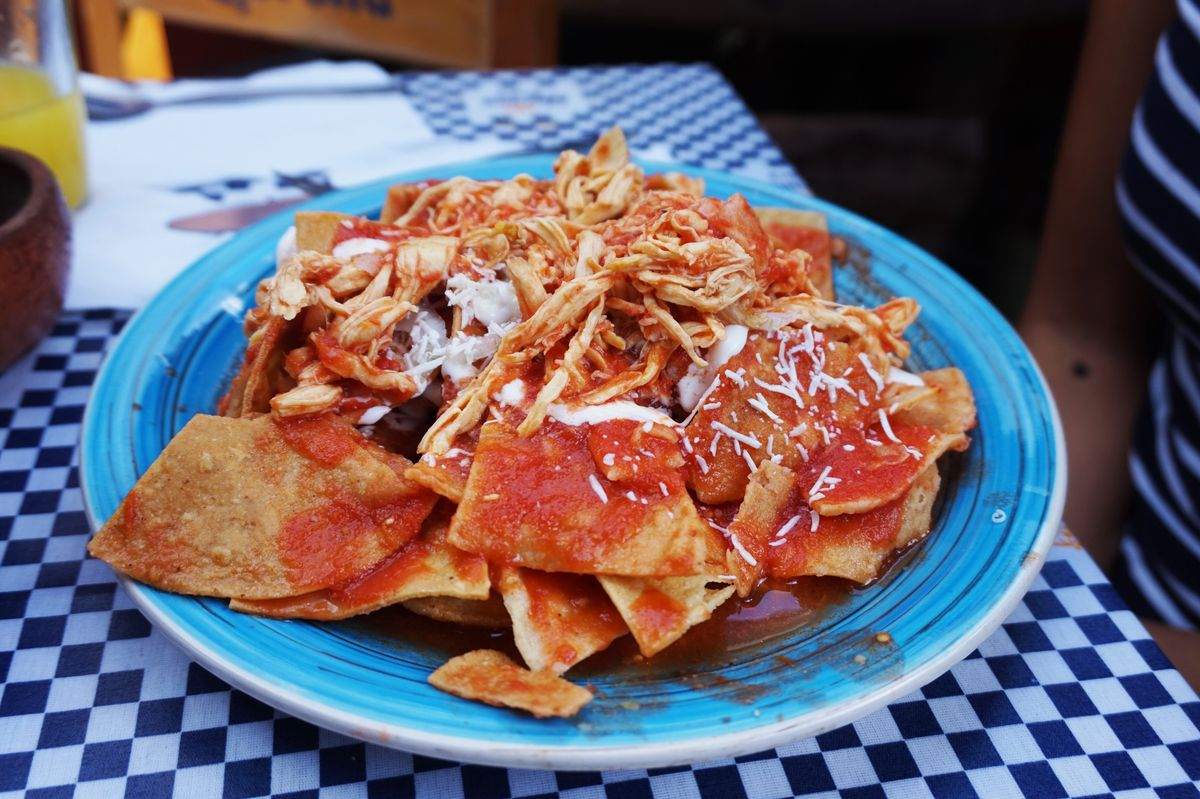 chilaquiles dish mexico