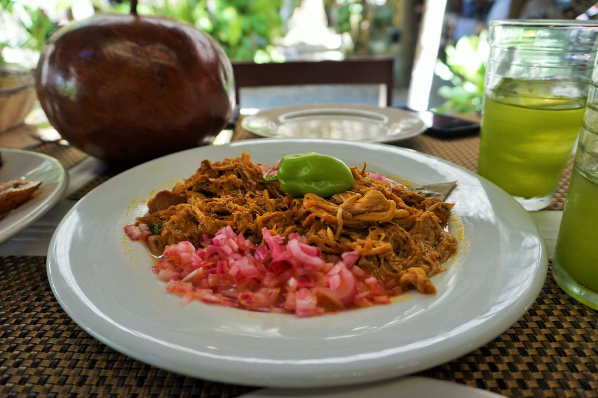 cochinita pibil from yucatan