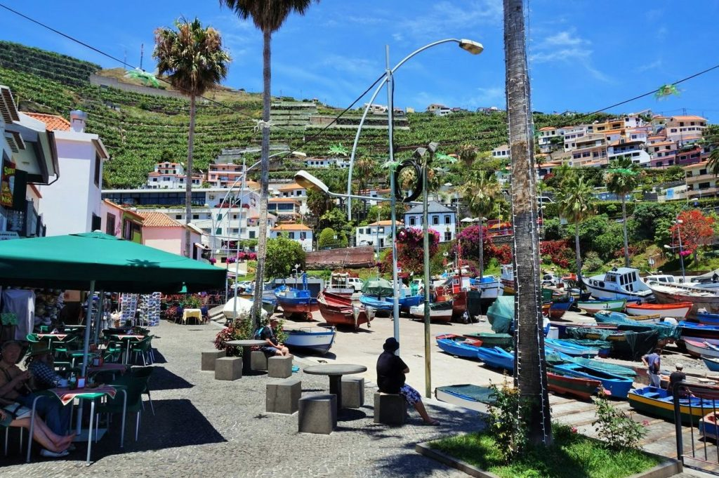 fishing village in madeira