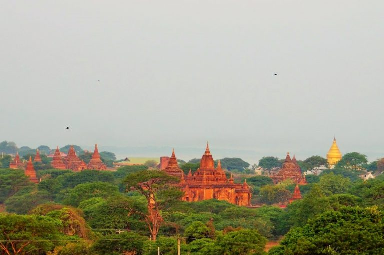 View of Bagan Temples
