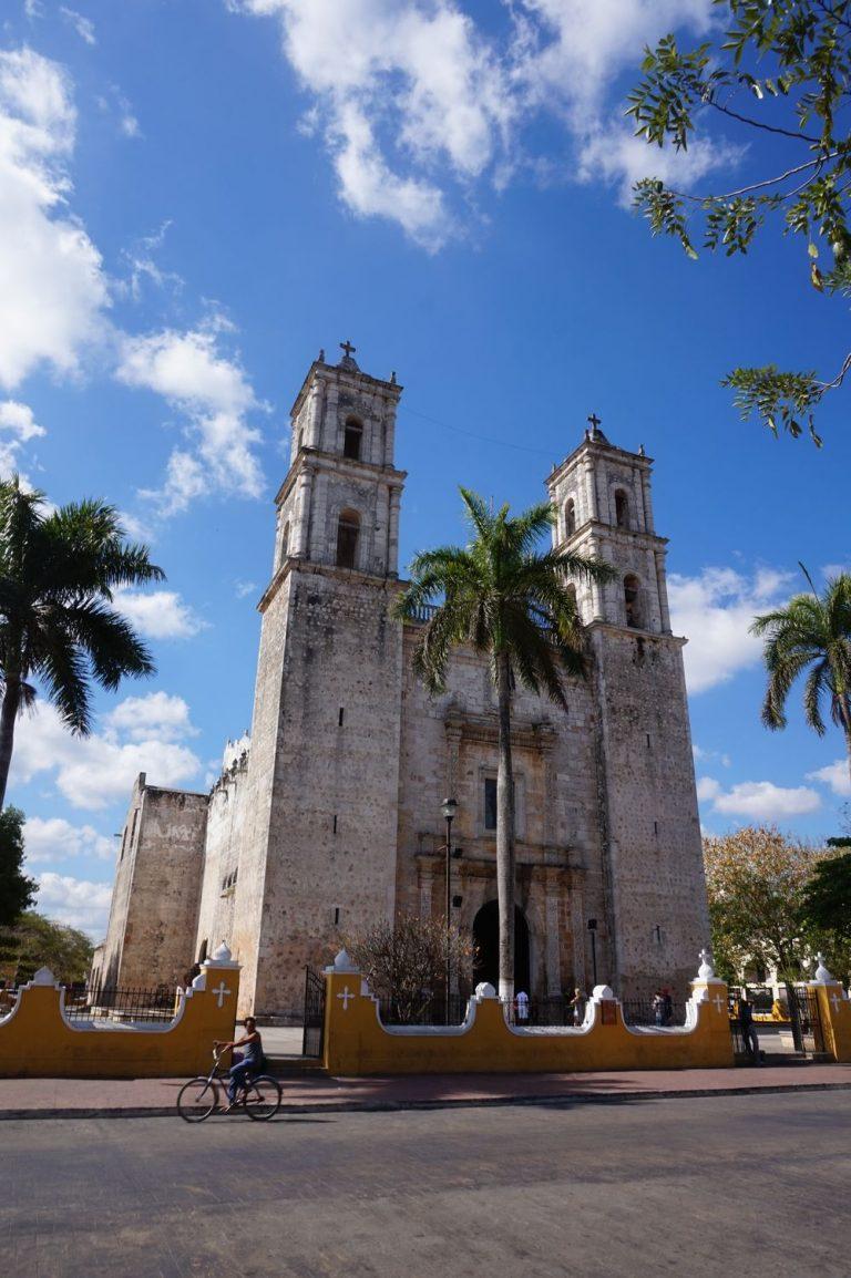 Church in Valladolid Yucatán