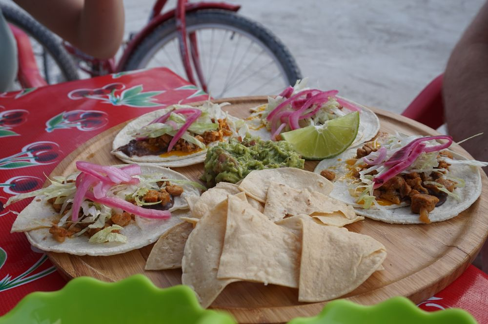 food in holbox