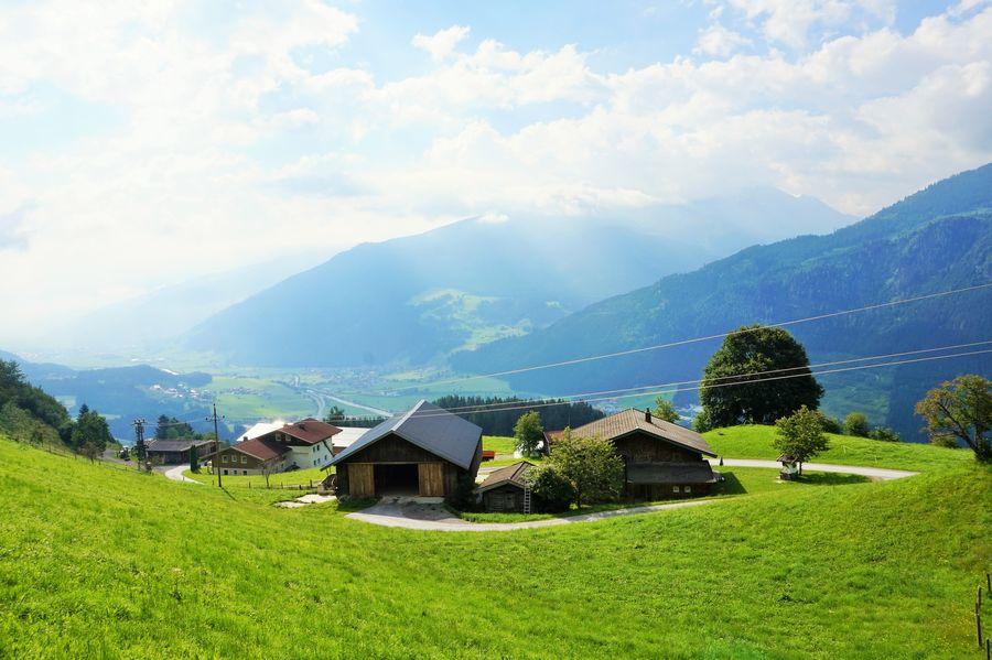 house austrian alps