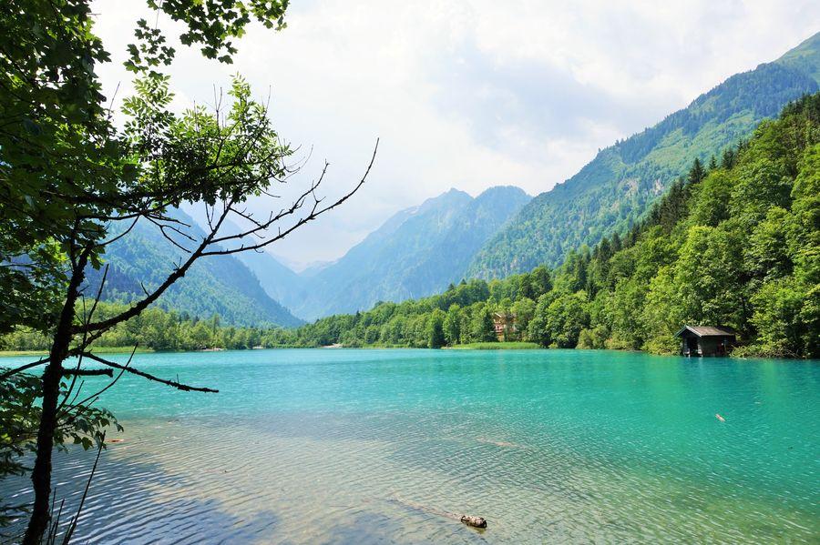 blue lake austria