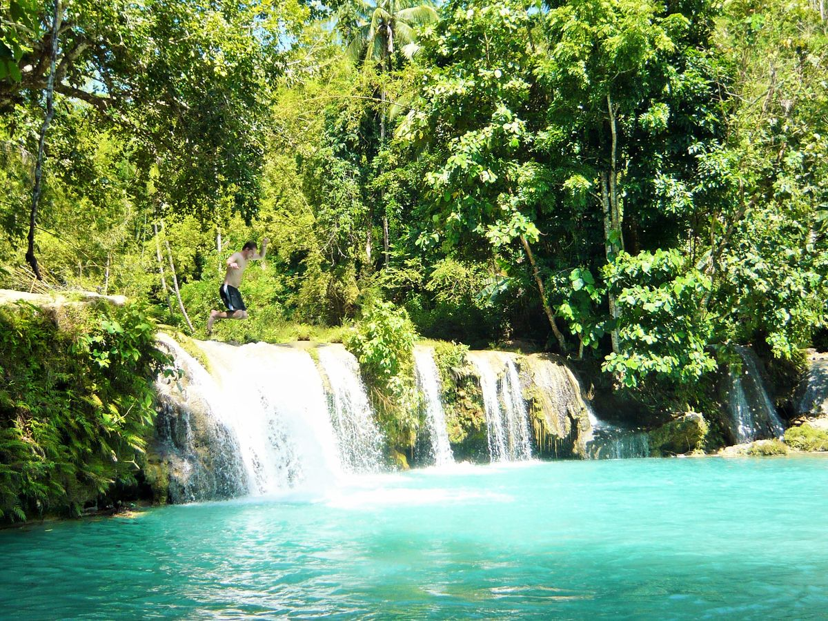 siquijor island waterfalls