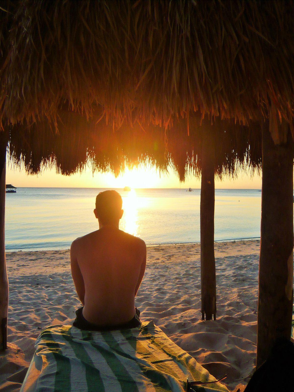 Siquijor Island sunset view