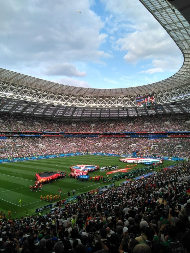 world cup 2018 luzhniki stadium view
