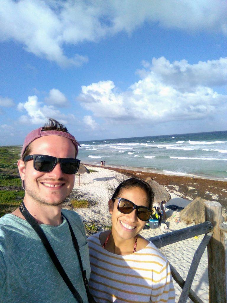 apenoni selfie on isla cozumel